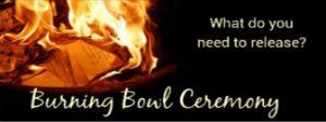 Burning Bowl/White Stone Ceremony