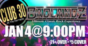 Badlandz Rocks Club 30