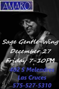 Sage Gentle-Wing At Amaro Winery