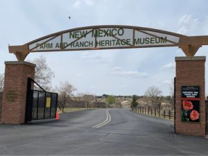 Farm and Ranch Museum entrance