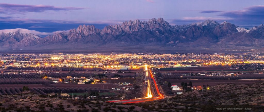 View of Las Cruces and the Mesilla Valley