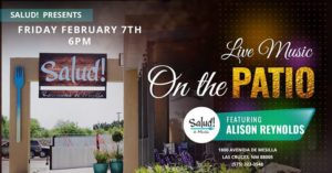 Alison Reynolds – LIve on the Patio