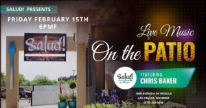 Chris Baker – Live on the Patio