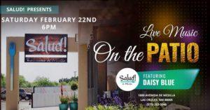 Daisy Blue – Live on the Patio