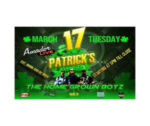 St. Patty's Day Party of The Year!