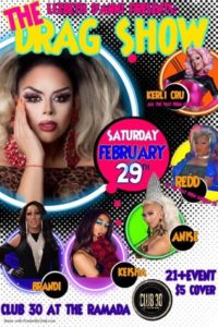 Drag Show: Club30 at The Ramada