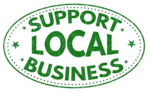 Support Local Business Badge
