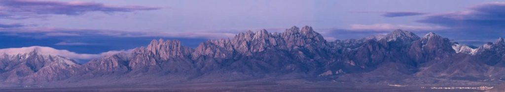 Page Header Background for Las Cruces Directory - Photo of Organ Mountains