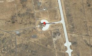 Aerial of Spaceport America