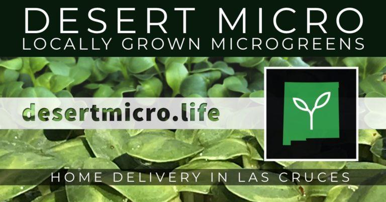 Desert Microgreens Las Cruces